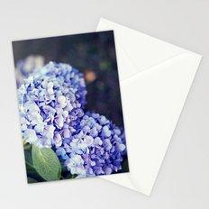 Purple Hydrangeas Stationery Cards
