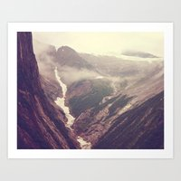 Alaska Mountains - Tracy… Art Print