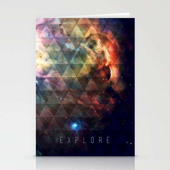 Explore II Stationery Card