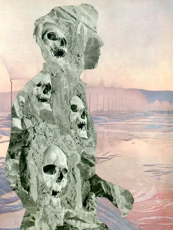 Cranium Man Art Print