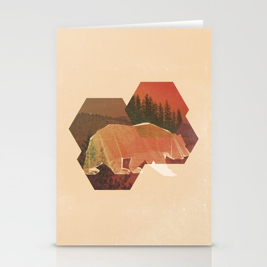 POLYBEAR Stationery Card