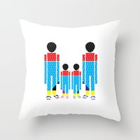 Familly Throw Pillow