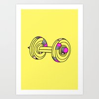 MY.DAILY.WORKOUT Art Print