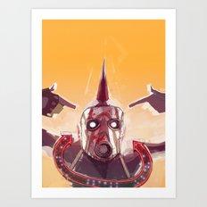 Borderlands - Face McShooty Art Print