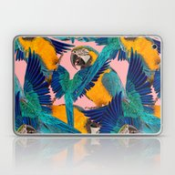 Ara Parrot Laptop & iPad Skin