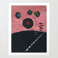 Super Highway Art Print