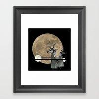 Moon Dance Framed Art Print