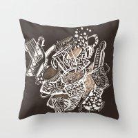 Teacup Extravaganzza. Il… Throw Pillow