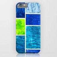 Blue Block iPhone 6 Slim Case
