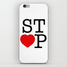Stop In The Name of Love #2 t-shirt canvas print iPhone & iPod Skin