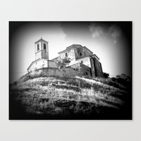 Spanish Iglesia Canvas Print