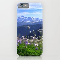 iPhone & iPod Case featuring Alpine Meadow by Right As Rain