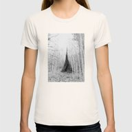 Aspen Teepee Womens Fitted Tee Natural MEDIUM