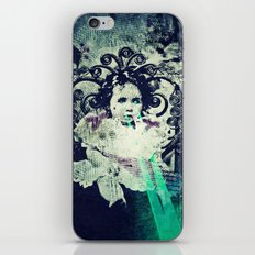 Butterfly Child iPhone & iPod Skin