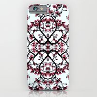 iPhone & iPod Case featuring magnolia silhouette by Monica Ortel ❖