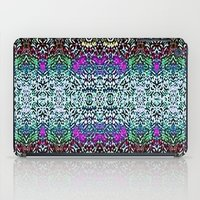 Lavender and Teal iPad Case