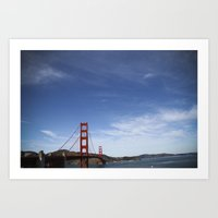 California (landscape) Art Print