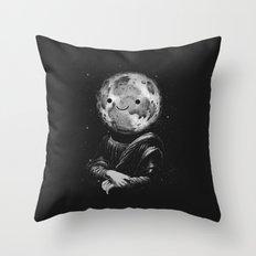 Moonalisa Throw Pillow