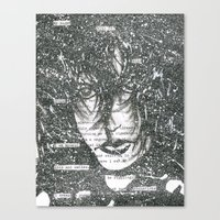 Fade to White Canvas Print