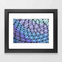 Between The Lines #2 Framed Art Print
