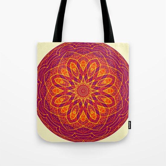 Kaleidoscope Sphere Tote Bag