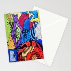 Rompecabezas de Corazon Stationery Cards