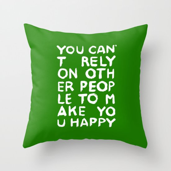 Rely Throw Pillow