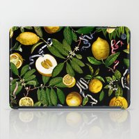 LEMON TREE Black iPad Case