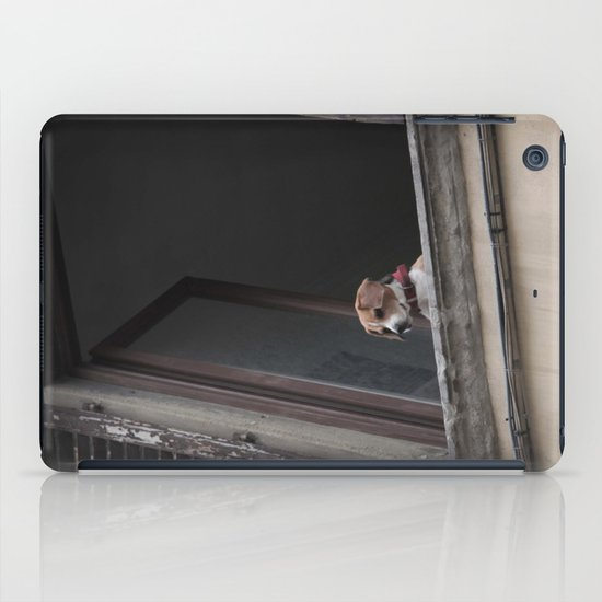 take me with you _ Beagle in a window iPad Case