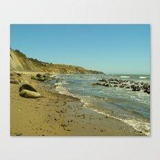 Bowling Ball Beach V Canvas Print