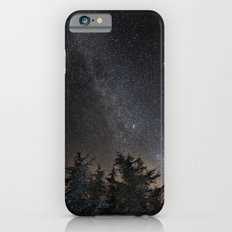 Andromeda Galaxy, Perseus and milkyway over the forest in the mountains Slim Case iPhone 6s