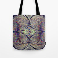 84-26-49 (Mandala Glitch) Tote Bag