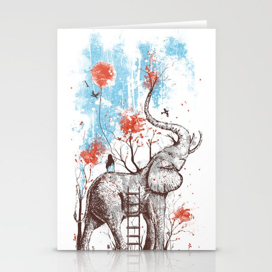 A Happy Place Stationery Card