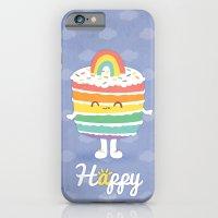 Happy Rainbow Cake iPhone 6 Slim Case