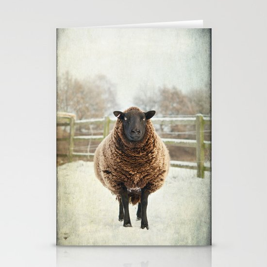 Zombie sheep Stationery Card