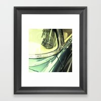 Classic Car, Study 1 Framed Art Print