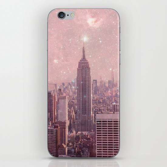 Stardust Covering New York iPhone & iPod Skin