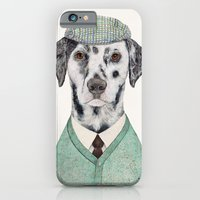 iPhone & iPod Case featuring Dalmatian Mint by Animal Crew