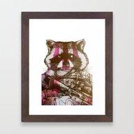 Badass Pets : The Royal … Framed Art Print