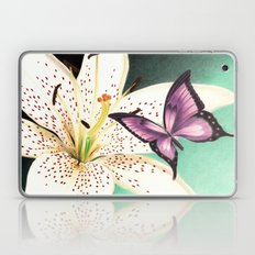 White Lily Laptop & iPad Skin