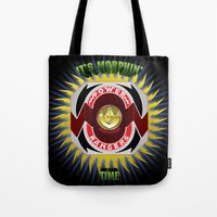 It's Morphin' Time - Green Ranger Tote Bag