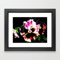 Petals with Pizzazz Framed Art Print
