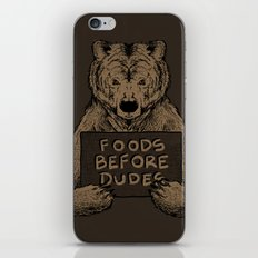 Foods Before Dudes iPhone & iPod Skin