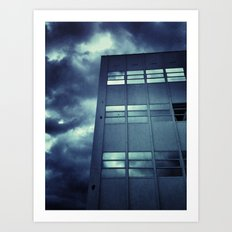 Stormy Windows Art Print