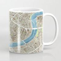 New Orleans City Map Mug