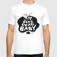 Zed's Dead Baby Mens Fitted Tee White SMALL
