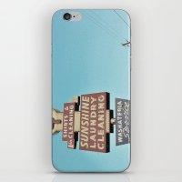 Sunshine Laundry Cleanin… iPhone & iPod Skin