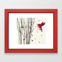Valentine Heart Framed Art Print