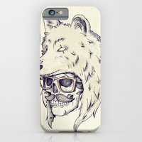iPhone & iPod Case featuring WOLF HAT by Mike Koubou