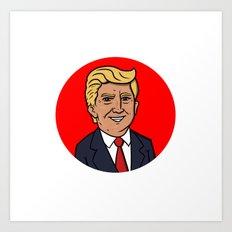 The Donald Art Print